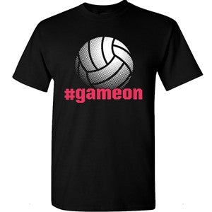 Image Sport Volleyball Game On T-shirt