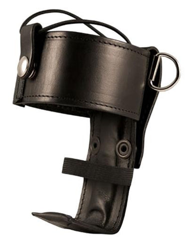 Boston Leather Radio Strap & Holder