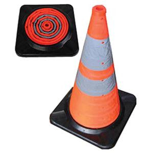 "30"" Collapsible Cone - 5 Pack with LED"