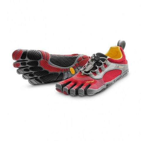 Women's Bikila LS (Red/Grey/Black)