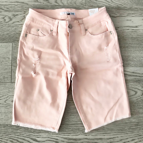 denim bermuda- rose wash