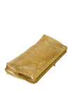 So Cool Gold-Flecked Transparent Clutch
