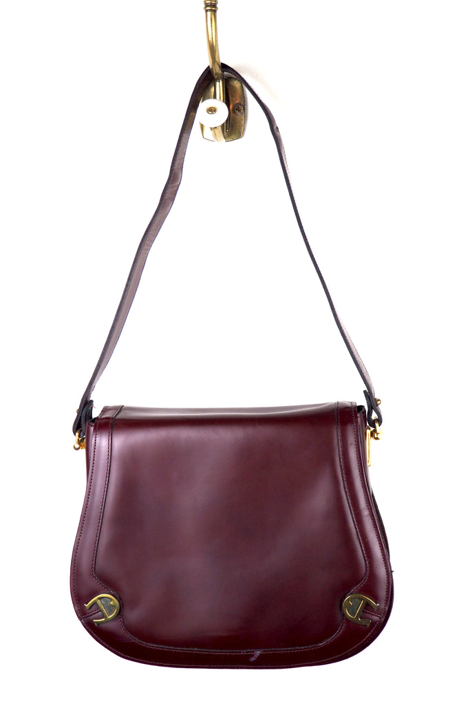 Etienne Aigner Rich Burgundy Pocketbook