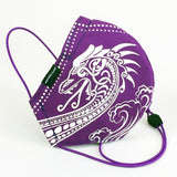 Face Covers: Viking Dragon print