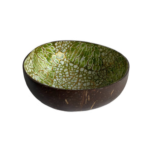 COCONUT BOWL SET OF 2 - EGGSHELL LIME
