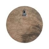 "MANGO WOOD CARVED WALL HANG 8"" - ROUND #2"