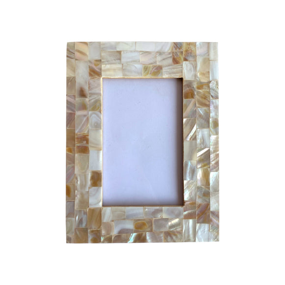 MOTHER OF PEARL PHOTO FRAME 4 X 7