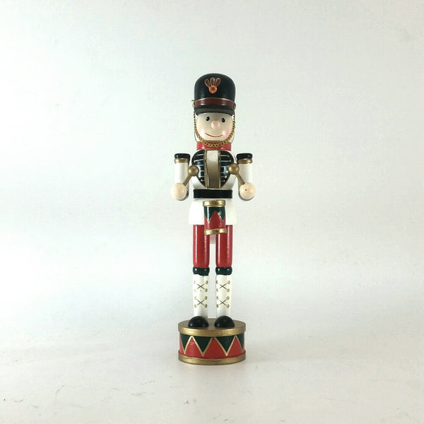 TOY SOLDIER WOOD 30CM WHITE 206392A (PROMO)
