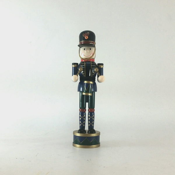 TOY SOLDIER WOOD 30CM BLUE 206392D (PROMO)