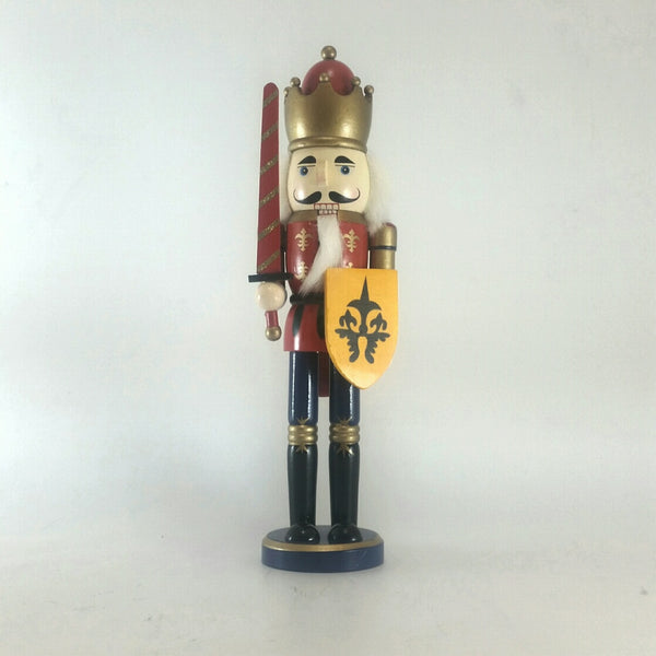 NUTCRACKER WOOD 40CM RED 206352E