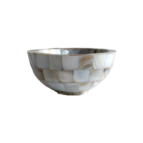 MOTHER OF PEARL ROUND BOWL 4