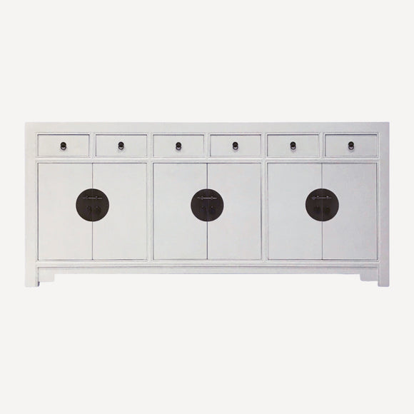 SIDEBOARD ORIENT 6DW6DR WHITE MQZ-18
