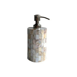 MOTHER OF PEARL SOAP DISPENSER 6""