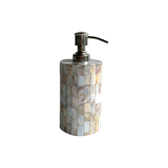 MOTHER OF PEARL SOAP DISPENSER 6