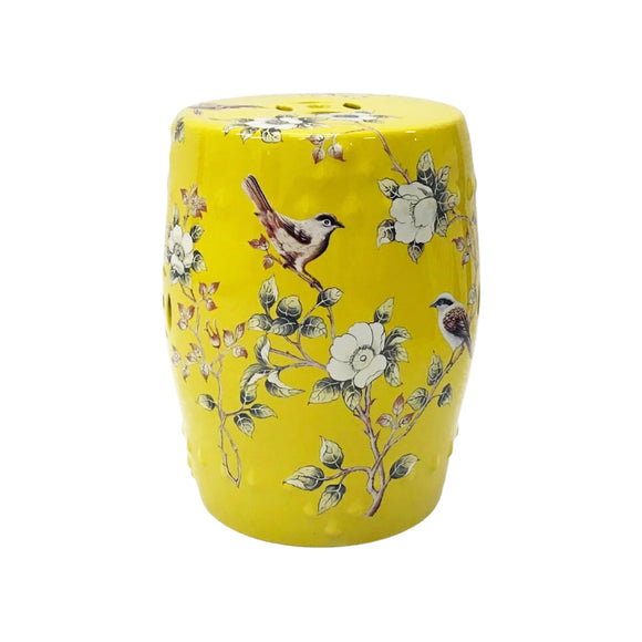 DRUM STOOL MAGNOLIA DARK YELLOW