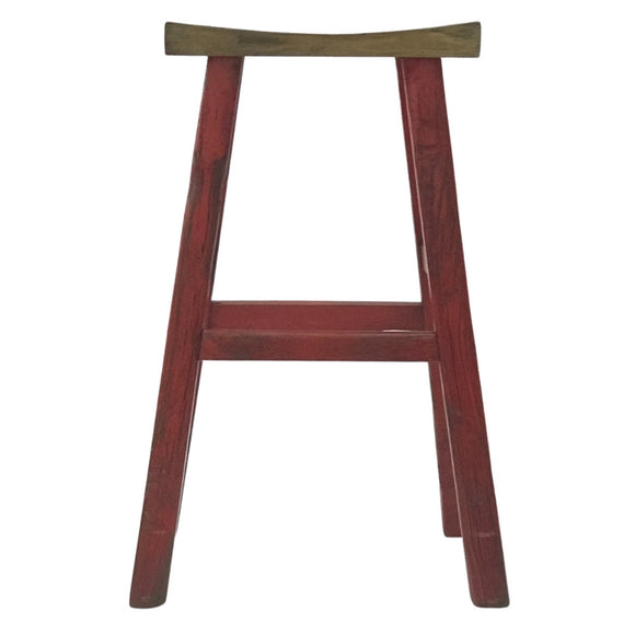 BARSTOOL SADDLE RED 5CH-072