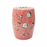 DRUM STOOL MAGNOLIA PINK