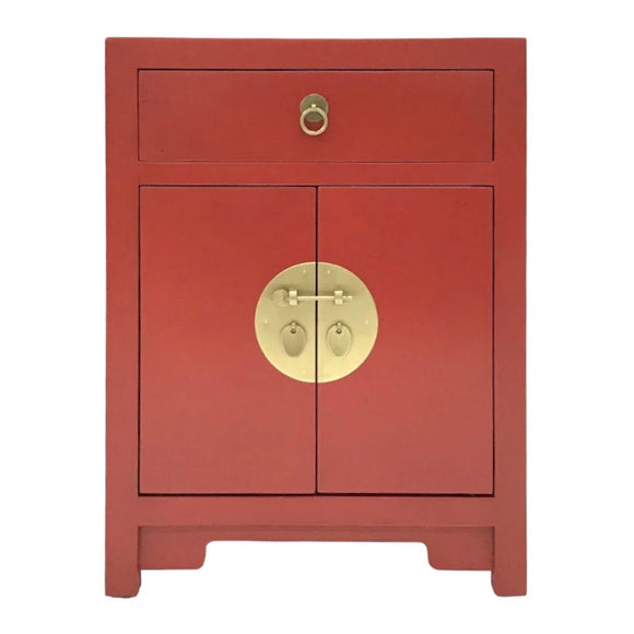 CABINET ORIENT 1DW2DR RED MQZ-08
