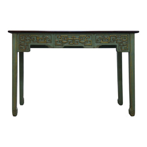 CONSOLE TABLE CARVED DONGBEI 4CH-96