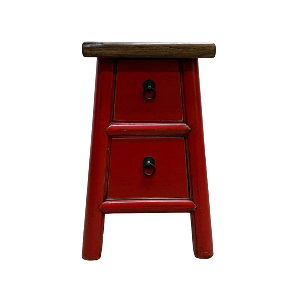 STOOL LIANG 2DW RED 3CH-117
