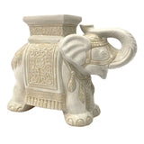 CERAMIC ELEPHANT WHITE #201908 (PROMO)