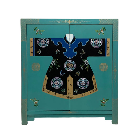 ROBE CABINET TURQUOISE MQZ-13