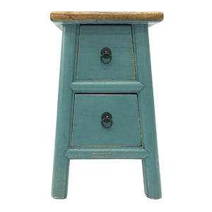 STOOL LIANG 2DW TURQUOISE MQZ-204