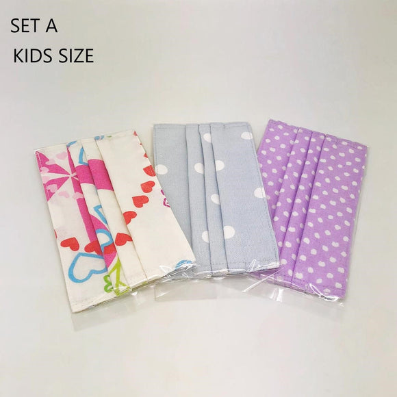 REUSABLE FABRIC MASK (SET OF 3)