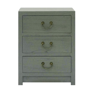 CABINET 3 DRAWER GREY WASH MQZ-39