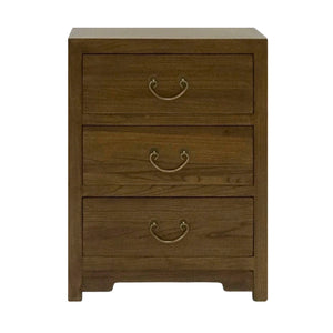 CABINET 3 DRAWER LIGHT WOOD MQZ-39