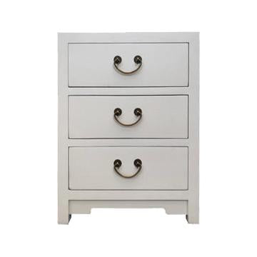 CABINET 3 DRAWER WHITE MQZ-39