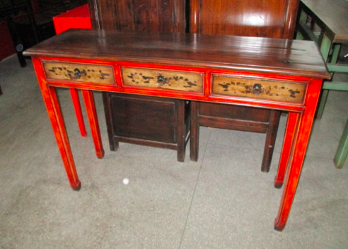TABLE PAINTED DONGBEI 3DW CH-098
