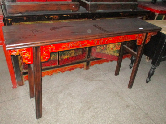 CONSOLE TABLE CARVED DONGBEI CH-052