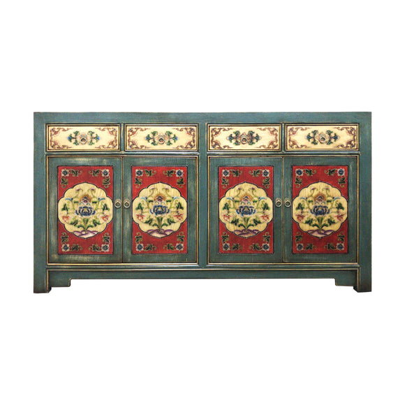 SIDEBOARD ORIENT 4DW4DR PAINTED MQZ-01