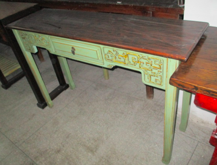 CONSOLE TABLE CARVED DONGYANG 1DW CH-055