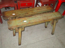 KUNGFU BENCH CARVED CH-152