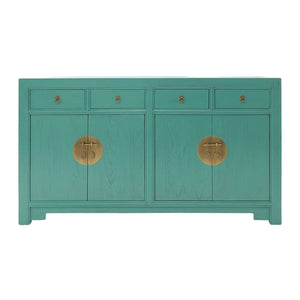 SIDEBOARD ORIENT 4DW4DR TURQUOISE WASH MQZ-01