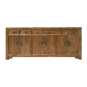 SIDEBOARD ORIENT 6DW6DR LIGHT WOOD MQZ-18