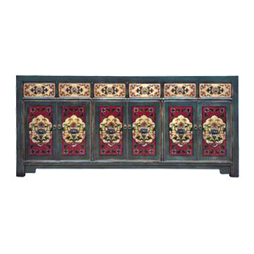 SIDEBOARD ORIENT 6DW6DR PAINTED MQZ-18