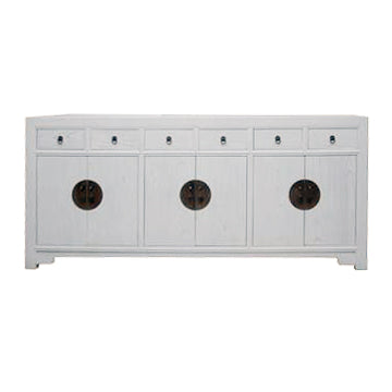 SIDEBOARD ORIENT 6DW6DR WHITE WASH MQZ-18