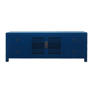 TV CONSOLE LATTICE 1.8M BLUE MQZ-11