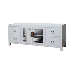 TV CONSOLE LATTICE 1.8M WHITE MQZ-11