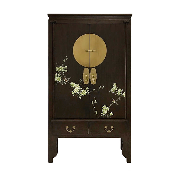 WEDDING CABINET FLEUR DARK WOOD MQZ-03
