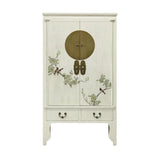 WEDDING CABINET FLEUR WHITE WASH MQZ-03