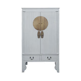 WEDDING CABINET ORIENT WHITE WASH MQZ-03