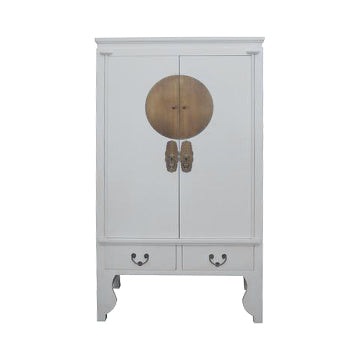 WEDDING CABINET ORIENT PLAIN WHITE MQZ-03