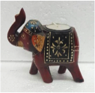 "TEA LIGHT ELEPHANT  4"" EIHC-9117"