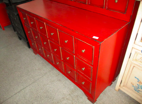 DRAWER CHEST 18DW RED CH-037
