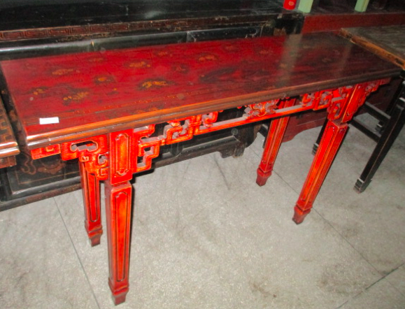 CONSOLE TABLE CARVED DONGBEI CH-089