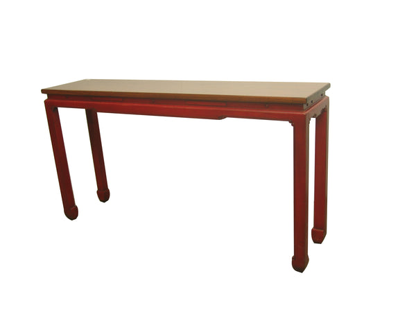 CONSOLE SIMPLE RED 3CH-091 60X38X86CM
